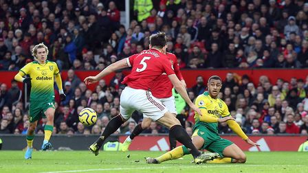 It was an afternoon to forget to Norwich City at Old Trafford. Picture: Paul Chesterton/Focus Images