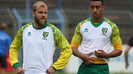 Adam Idah is on standby if Teemu Pukki is ruled out through injury for Norwich City's Premier League