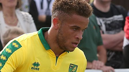 Norwich City striker Carlton Morris scored a debut equaliser for loan club MK Dons Picture: Paul Che