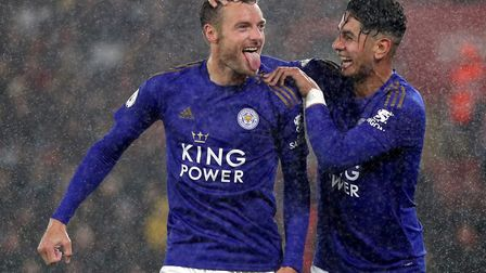 Jamie Vardy has scored 16 goals for Leicester in the top flight already this season Picture: Andrew
