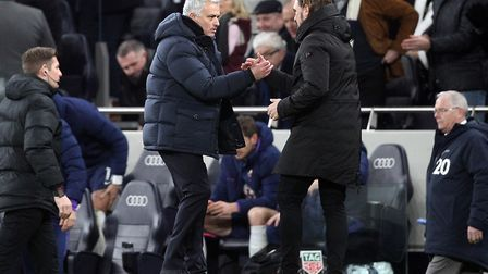 An FA Cup reunion beckons for Daniel Farke and Jose Mourinho Picture: Paul Chesterton/Focus Images L