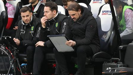 Can Daniel Farke find a way to escape the drop out of the Premier League? Picture: Paul Chesterton/F