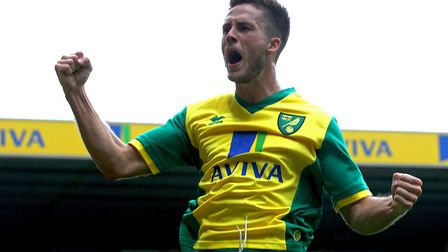 Ricky van Wolfswinkel has returned to first team training after recovering from a brain aneurysm Pic