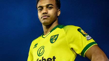 Sam McCallum signed for City on Deadline Day. Picture: Norwich City FC