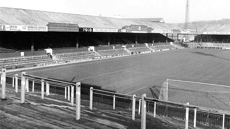 The good old days? Terracing at Carrow Road in 1972 Picture: Archant Library