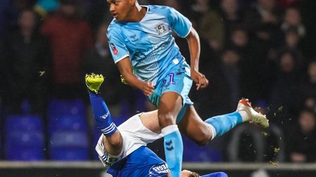 McCallum has been a major part of the Sky Blues squad this season. Picture: Steve Waller