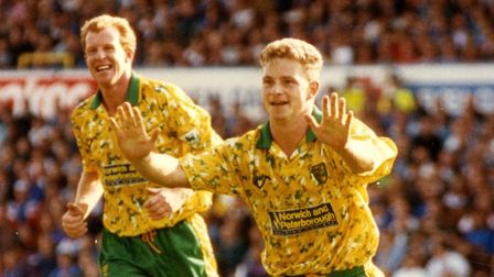 Mark Robins during his City days. Picture: Simon Findlay/Archant
