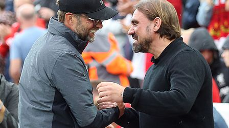 Jurgen Klopp had kind words for Norwich City after Liverpool's opening night win Picture: Paul Chest