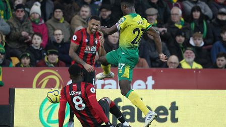 Tettey has a pass completion rate of 88pc. Picture: Paul Chesterton/Focus Images Ltd