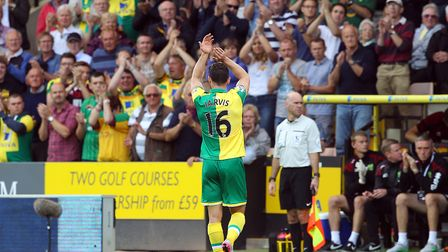 Matt Jarvis was applauded as he was substituted during his debut against Bournemouth - but injuries
