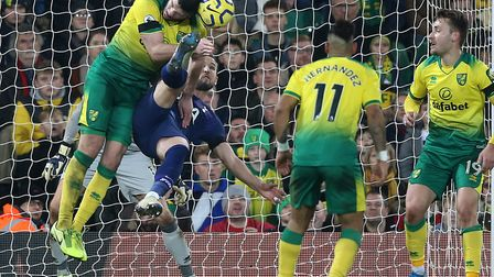 Grant Hanley will get another chance to lay down a Premier League marker at Tottenham with Ben Godfr