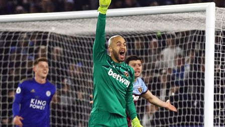 Former Liverpool goalkeeper Pepe Reina joined Aston Villa on loan from AC Milan Picture: Tim Goode/P
