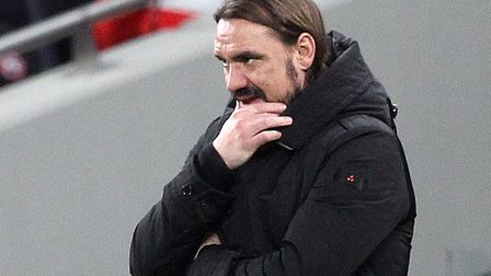 Daniel Farke expects a quiet end to the transfer window for Norwich City Picture: Paul Chesterton/Fo