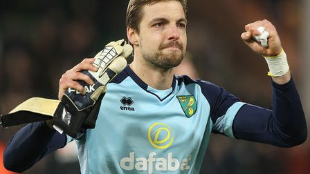 Tim Krul deserved his clean sheet against Bournemouth Picture: Paul Chesterton/Focus Images Ltd
