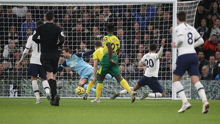Dele Alli scored the opening goal in the match. Picture: Paul Chesterton/Focus Images Ltd