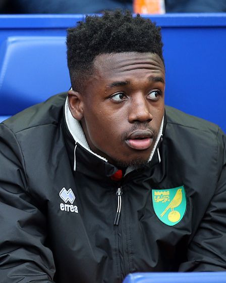 Timi Odusina was on the bench for Norwich City during a 4-0 Championship win at Sheffield Wednesday