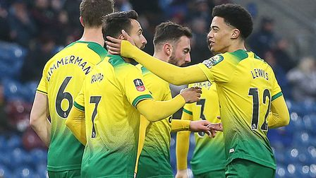 Norwich reached the fifth round of the FA Cup for the first time since 2012 after the win at Burnley