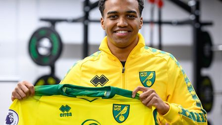 New Norwich City signing Sam McCallum is a graduate from Jamie Vardy's academy Picture: Norwich City