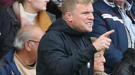 Eddie Howe is not playing down how big Bournemouth's trip to Norwich City is this weekend Picture: P