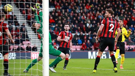 Bournemouth lost their last game 3-0 to relegation strugglers Watford. Picture: Adam Davy/PA Images
