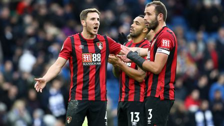 Bournemouth sit 19th in the Premier League and are threatened with relegation. Picture: Gareth Fulle