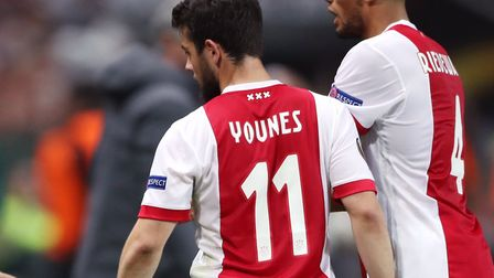 Napoli wide player Amin Younes has been linked with a loan move to Norwich City Picture: Nick Potts/