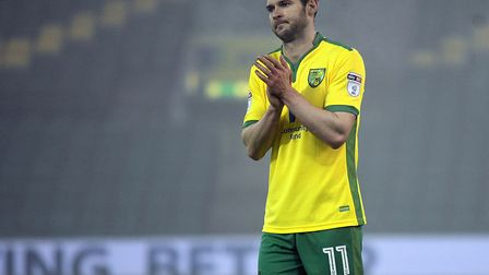 Matt Jarvis of U23 Manager during the Checkatrade Trophy match at Carrow Road, NorwichPicture by Ma
