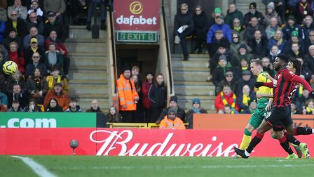 It looked like Ondrej Duda had scored for Norwich City, only to be denied a debut goal by Steve Cook