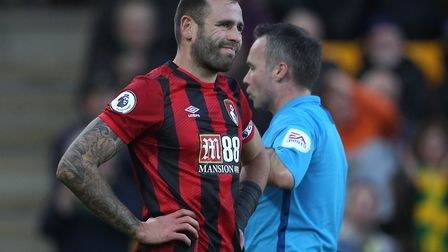 Bournemouth captain Steve Cook knew his red card was coming was coming afte handling Ondrej Duda's s