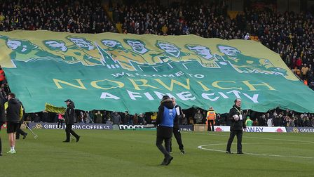 Norwich City fans played their part before, during and after the 1-0 Premier League win over Bournem