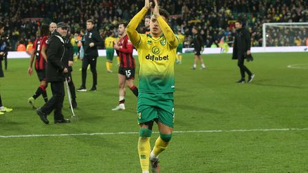 Could cashing in on Max Aarons help the Norwich City cause? Picture: Paul Chesterton/Focus Images L