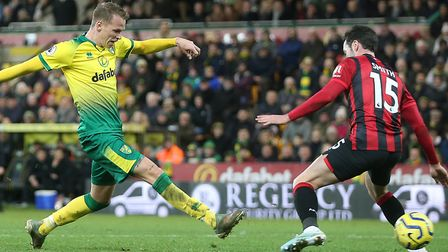 Ondrej Duda made his mark on his Norwich City debut against Bournemouth Picture: Paul Chesterton/Foc