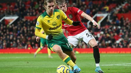 Todd Cantwell has been linked with a move away from Norwich City. Picture: Paul Chesterton/Focus Ima