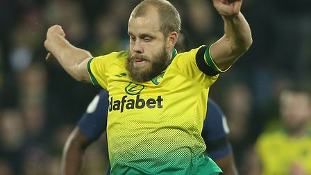 Teemu Pukki has missed Norwich City's last two games through injury Picture: Paul Chesterton/Focus I