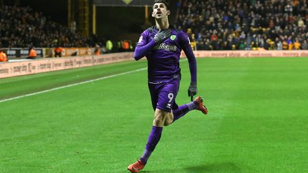 Nelson Oliveira has been linked with a move to Wolves. Picture: Paul Chesterton/Focus Images Ltd