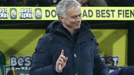 Tottenham Hotspur boss Jose Mourinho had to answer questions over a reported bust up with defender