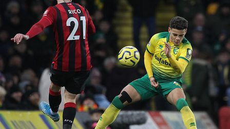 Norwich City defender Max Aarons has been linked with Tottenham in the last few transfer windows Pic