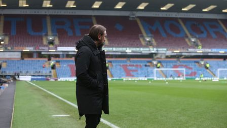 Norwich Head Coach Daniel Farke before the FA Cup match. Picture: Paul Chesterton/Focus Images Ltd
