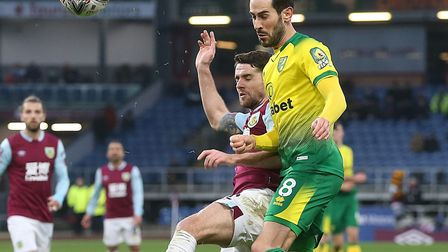 Mario Vrancic was influential in Norwich City's 2-1 FA Cup win at Burnley Picture: Paul Chesterton/F