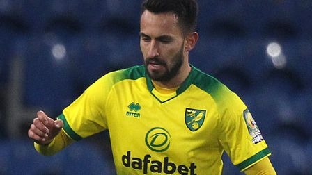 Lukas Rupp made his mark for Norwich City at Burnley Picture: Paul Chesterton/Focus Images Ltd