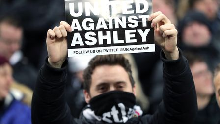 One of the many previous protest movements against Mike Ashley's ownership led by Newcastle fans at