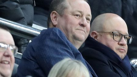 Newcastle United owner Mike Ashley pictured at St James' Park earlier this month Picture: Owen Humph