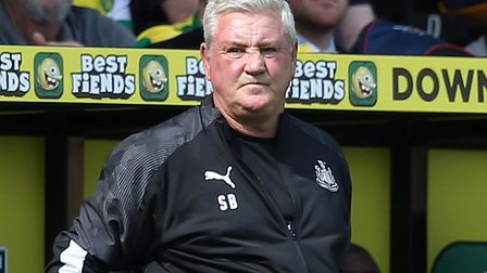 Newcastle manager Steve Bruce did not enjoy his return to Carrow Road in August, with Norwich winnin
