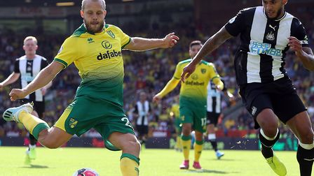 Teemu Pukki had a day to remember with a hat-trick in Norwich City's 3-1 Premier League win over New