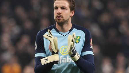 Tim Krul kept a clean sheet on his return to Newcastle, as Norwich City drew 0-0 Picture: Paul Chest