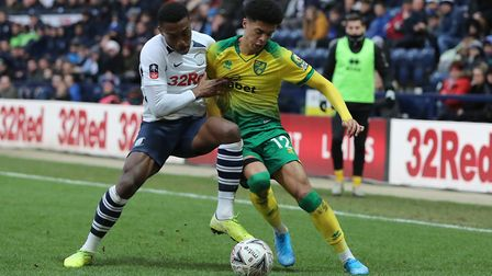 Jamal Lewis was linked consistently with Palace throughout the transfer window.Picture: Michael Sedg