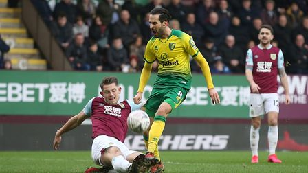 Vrancic impressed at Burnley on Saturday. Picture: Paul Chesterton/Focus Images Ltd