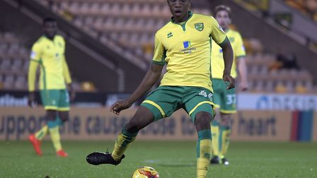 Ebou Adams during his time at Norwich City. Picture: Matthew Usher/Focus Images Ltd