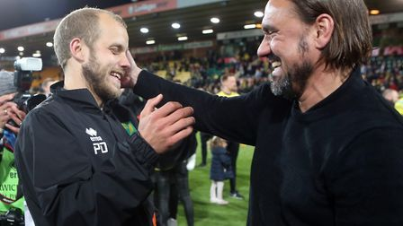 Teemu Pukki is not heading to Manchester United insists Norwich City head coach Daniel Farke Picture