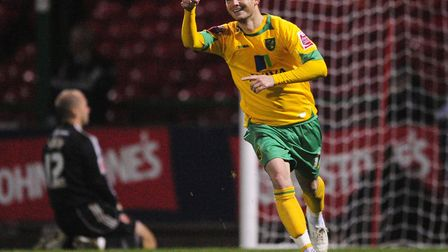Jamie Cureton was the last player to score a winning penalty in a shoot-out for Norwich City, at Swi